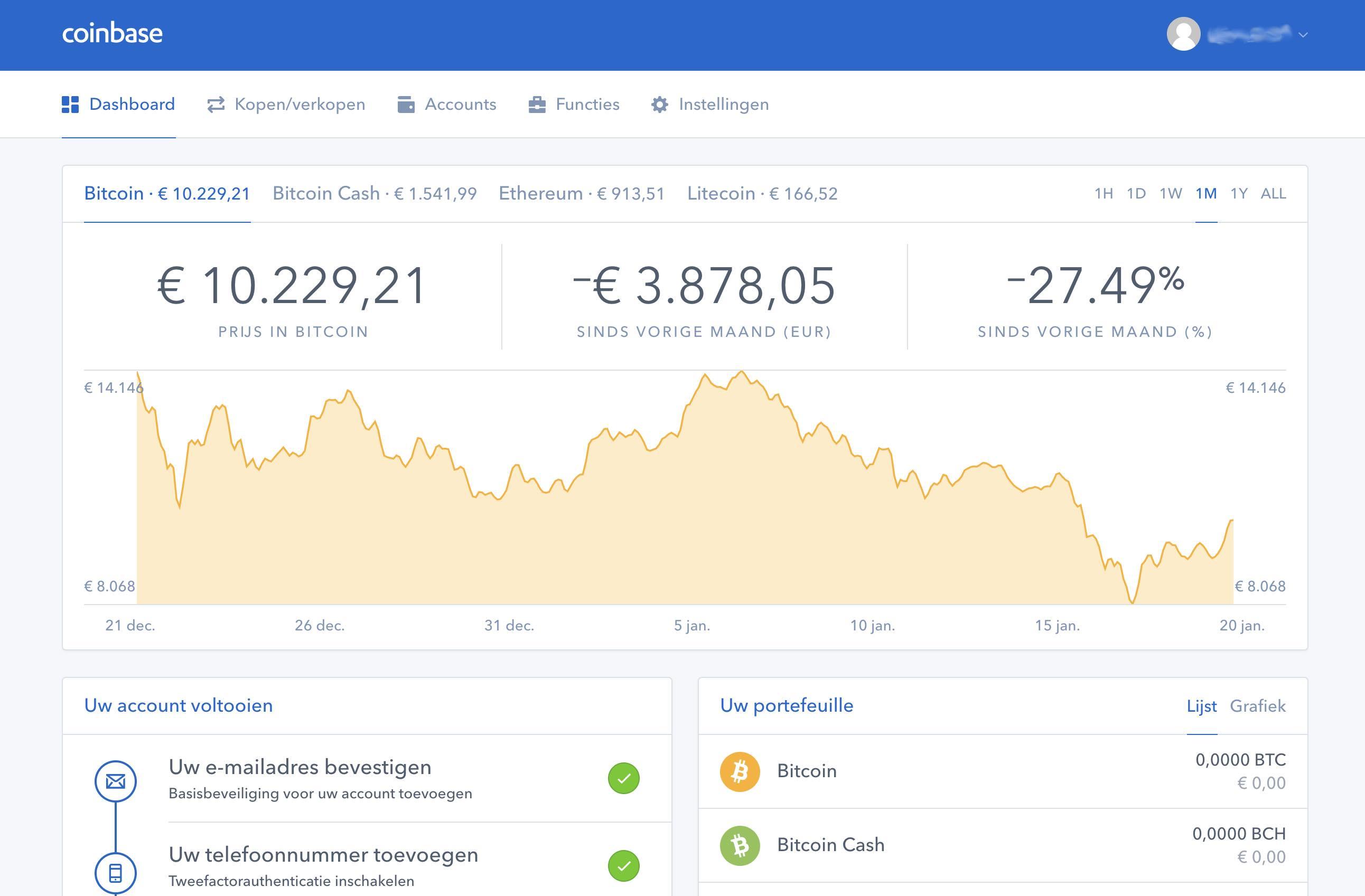 Create bitcoin address coinbase