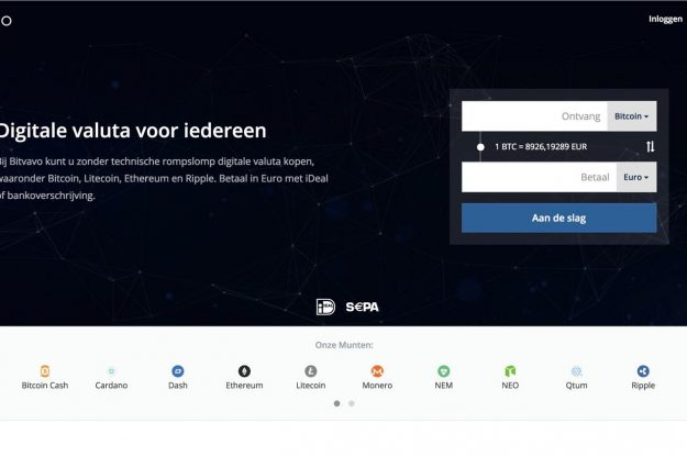 Bitvavo account aanmaken en cryptocurrency kopen