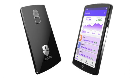 Archos lanceert Safe-T Touch hardware wallet met touchscreen