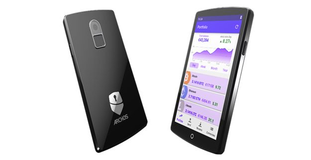 Archos lanceert Safe-T Touch hardware wallet met touchscreen