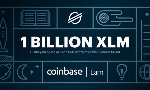 Airdrop: Gratis XLM (Stellar Lumens) wanneer je je inleest op Coinbase