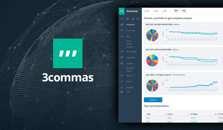 3Commas: extra geld verdienen met cryptocurrency traden